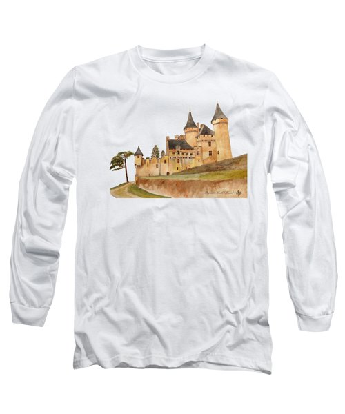 Puymartin Castle Long Sleeve T-Shirt
