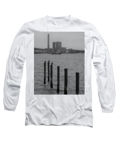 Long Sleeve T-Shirt featuring the photograph Q. River by John Scates