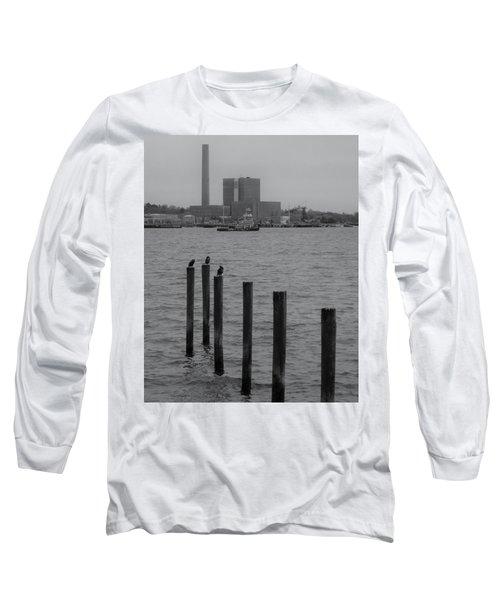 Q. River Long Sleeve T-Shirt by John Scates