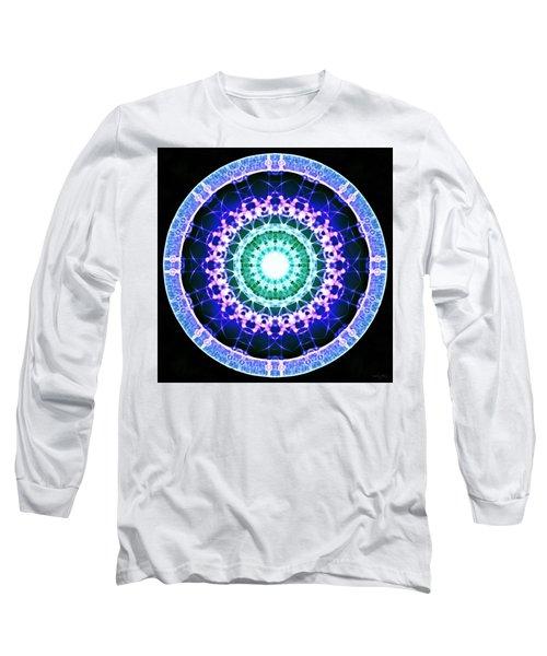 Long Sleeve T-Shirt featuring the digital art Quadlife by Derek Gedney
