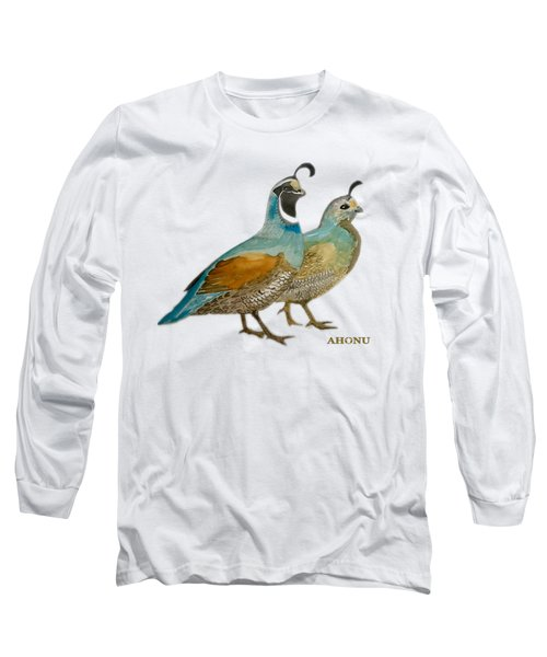 Quail Pair Long Sleeve T-Shirt