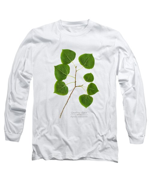 Long Sleeve T-Shirt featuring the photograph Quaking Aspen by Christina Rollo