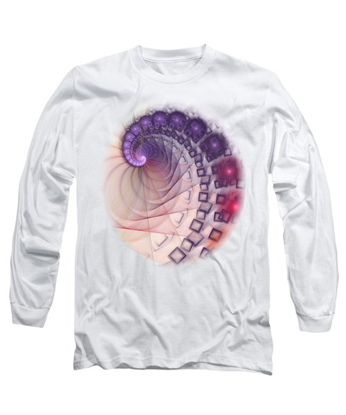 Long Sleeve T-Shirt featuring the digital art Quantum Gravity by Anastasiya Malakhova