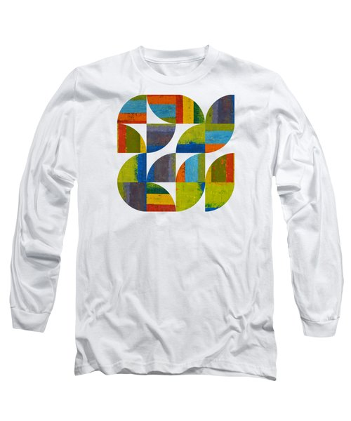 Quarter Rounds 4.0 Long Sleeve T-Shirt by Michelle Calkins