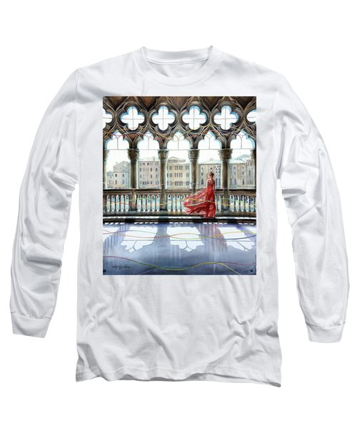 Quatrefoil Breeze Long Sleeve T-Shirt