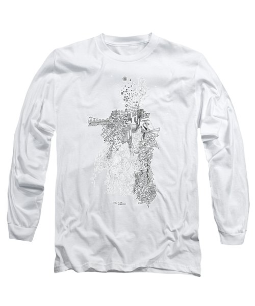 Queen Of The Afternoon Long Sleeve T-Shirt