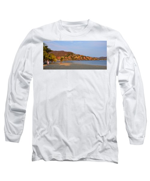 Quiet Afternoon Long Sleeve T-Shirt by Jim Walls PhotoArtist