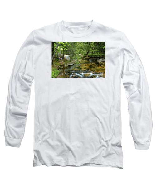 Quiet Place Long Sleeve T-Shirt by Alana Ranney