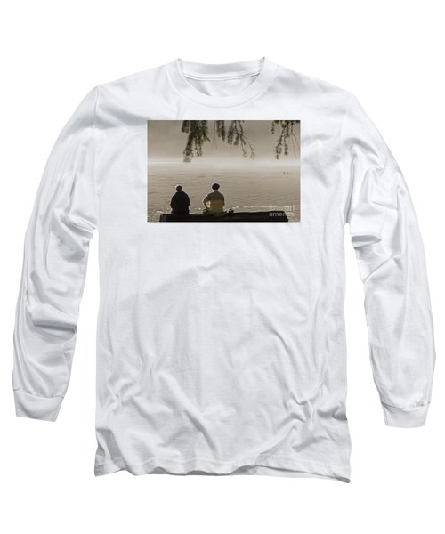Long Sleeve T-Shirt featuring the photograph Quiet Time by Inge Riis McDonald