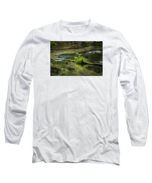 Quiet Trout Stream Long Sleeve T-Shirt