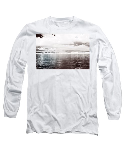 Long Sleeve T-Shirt featuring the photograph Quiet Waters by Keith Elliott