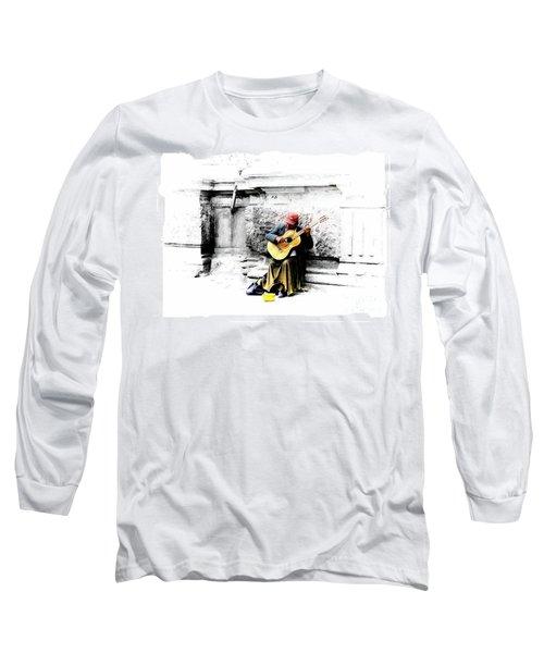 Quito Street Musician II Long Sleeve T-Shirt