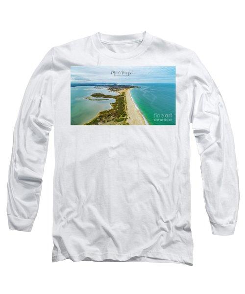 Quonochontaug Beach Long Sleeve T-Shirt