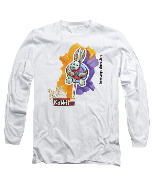 Rabbit Horoscope Long Sleeve T-Shirt