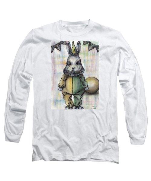 Rabbit Pierrot Long Sleeve T-Shirt