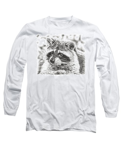 Raccoon Long Sleeve T-Shirt