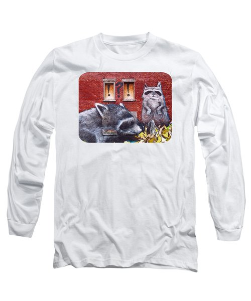 Raccoons Long Sleeve T-Shirt
