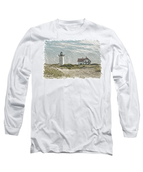 Long Sleeve T-Shirt featuring the photograph Race Point Lighthouse by Paul Miller