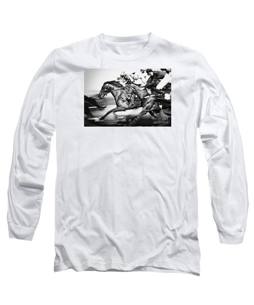 Racing Horses Long Sleeve T-Shirt