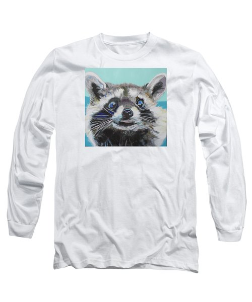 Racoon Long Sleeve T-Shirt by Jamie Downs