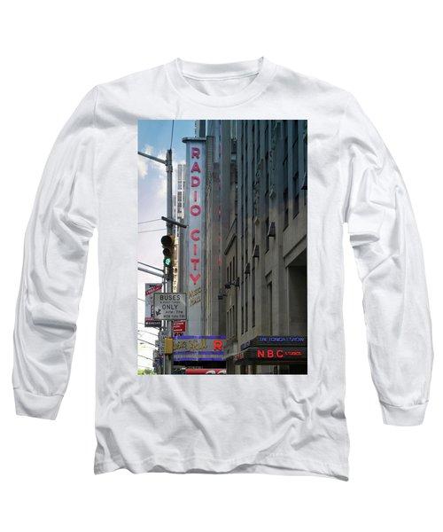 Radio City Music Hall Long Sleeve T-Shirt