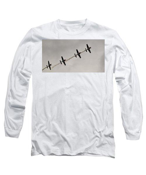 Raf Scampton 2017 - Global Stars In A Line Long Sleeve T-Shirt