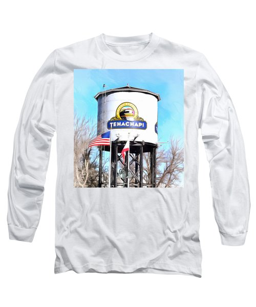 Long Sleeve T-Shirt featuring the photograph Railroad Park Tehachapi California Detail by Floyd Snyder