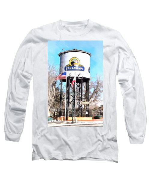 Long Sleeve T-Shirt featuring the photograph Railroad Park Tehachapi California by Floyd Snyder