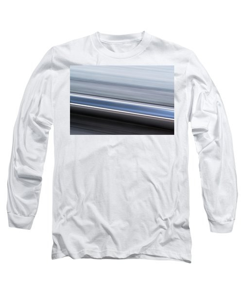 Long Sleeve T-Shirt featuring the photograph Railway Lines by John Williams