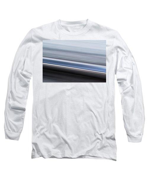 Railway Lines Long Sleeve T-Shirt by John Williams