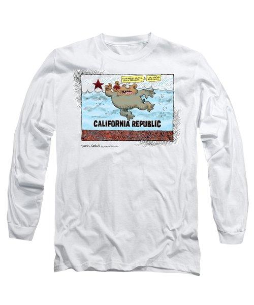Rain And Drought In California Long Sleeve T-Shirt