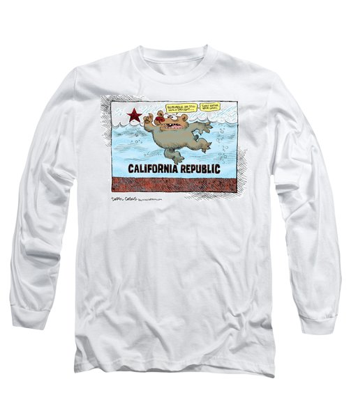 Rain And Drought In California Long Sleeve T-Shirt