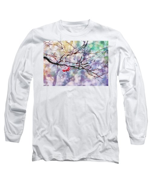 Rain Berries Long Sleeve T-Shirt by Francesa Miller