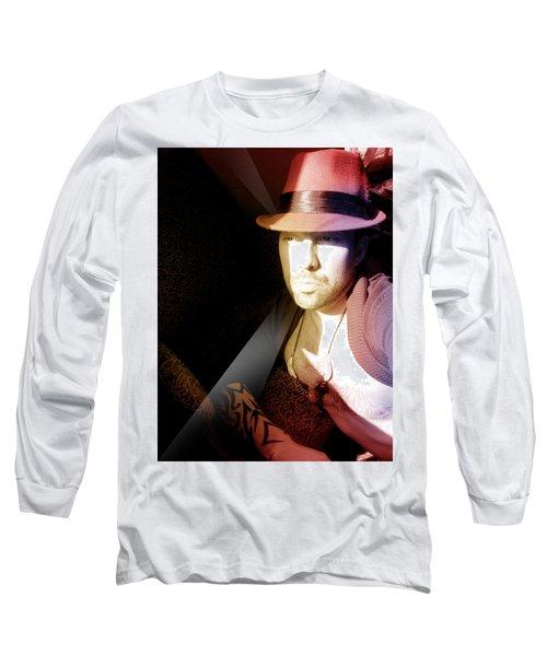 Rain Hat Long Sleeve T-Shirt