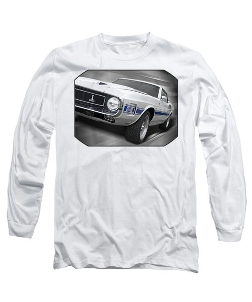 Rain Won't Spoil My Fun - 1969 Shelby Gt500 Mustang Long Sleeve T-Shirt