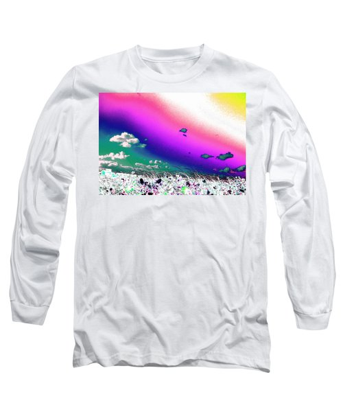 Rainbow Borealis Long Sleeve T-Shirt
