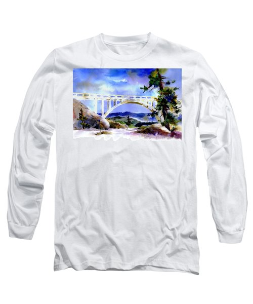 Rainbow Bridge Above Donnerlk#2 Long Sleeve T-Shirt