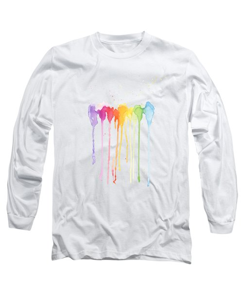 Rainbow Color Long Sleeve T-Shirt