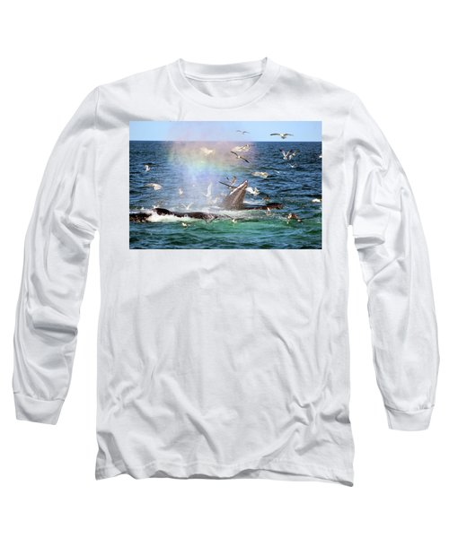 Rainbow In The Spray 1 Long Sleeve T-Shirt