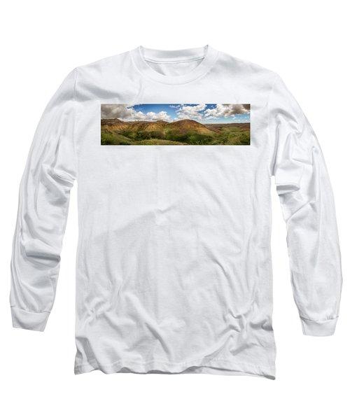 Rainbow Mountain Long Sleeve T-Shirt