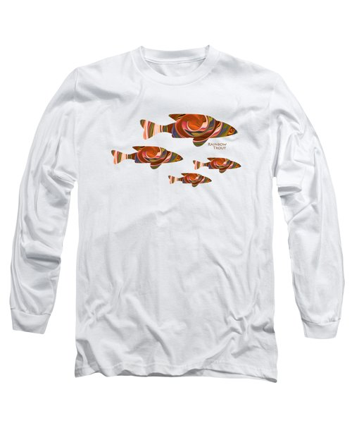 Rainbow Trout Long Sleeve T-Shirt