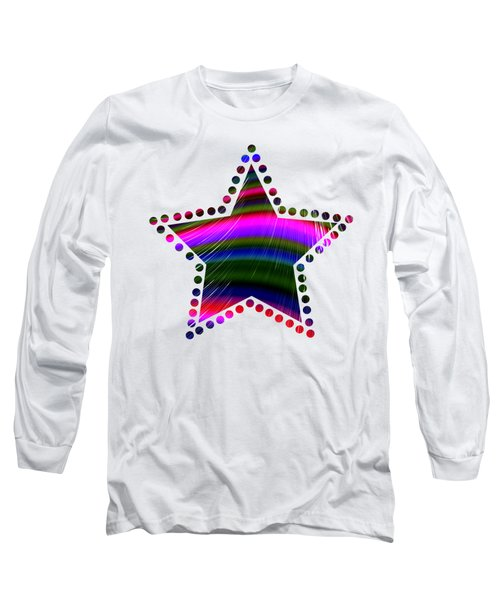 Rainbow Waves Long Sleeve T-Shirt