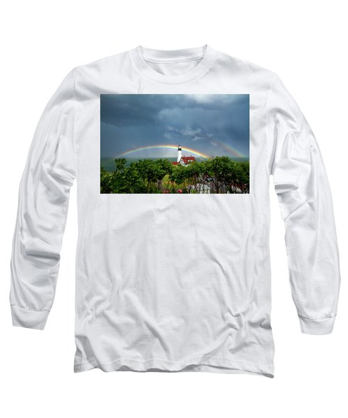 Rainbow X 2 At Portland Headlight Long Sleeve T-Shirt