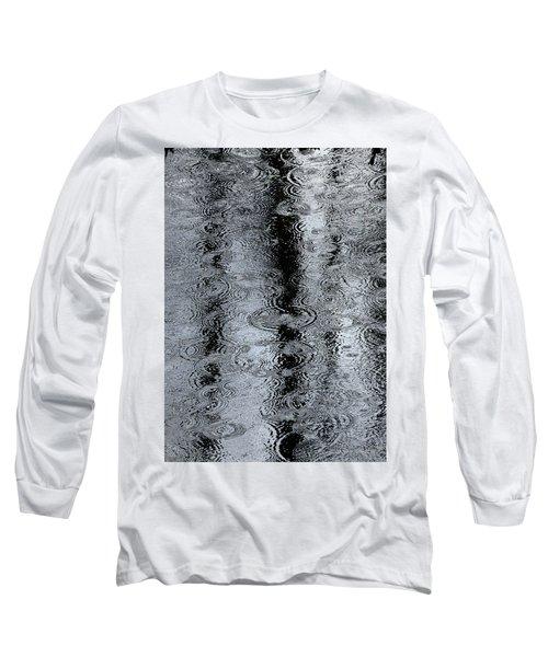 Raindrops On A Pond Long Sleeve T-Shirt
