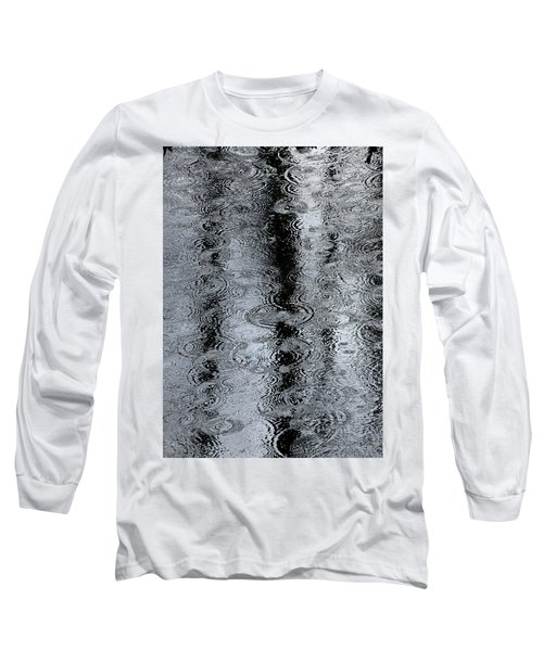 Raindrops On A Pond Long Sleeve T-Shirt