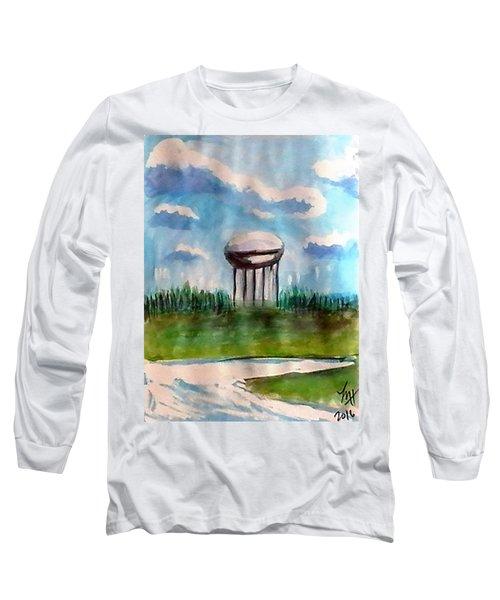Raines Road Watertower Long Sleeve T-Shirt