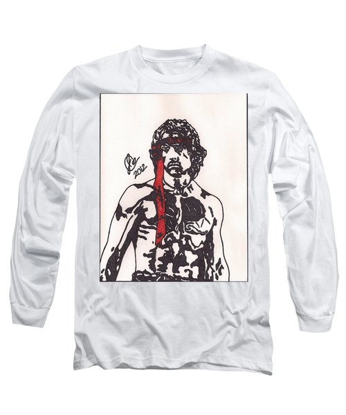 Rambo First Blood Part II Long Sleeve T-Shirt
