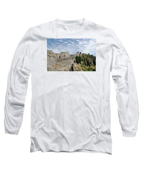 Ramparts Of Montenegro Long Sleeve T-Shirt