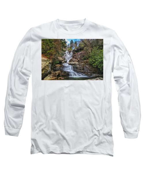 Ramsey Cascades - Tennessee Waterfall Long Sleeve T-Shirt