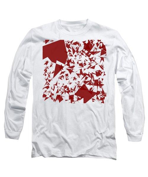 Random Shreds Long Sleeve T-Shirt by Keshava Shukla